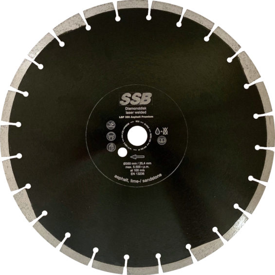 Dijamantna rezna ploča LSP 350 Premium